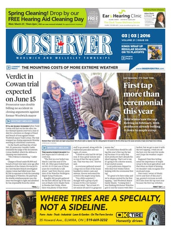 March 3 2016 by woolwich observer issuu page 1 malvernweather Image collections