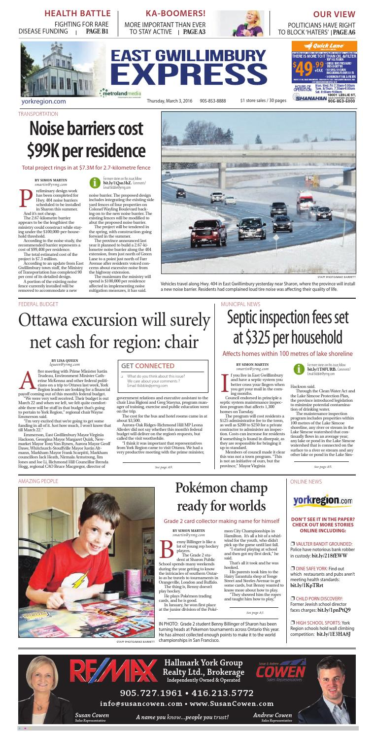 East Gwillimbury, March 3 by East Gwillimbury - issuu