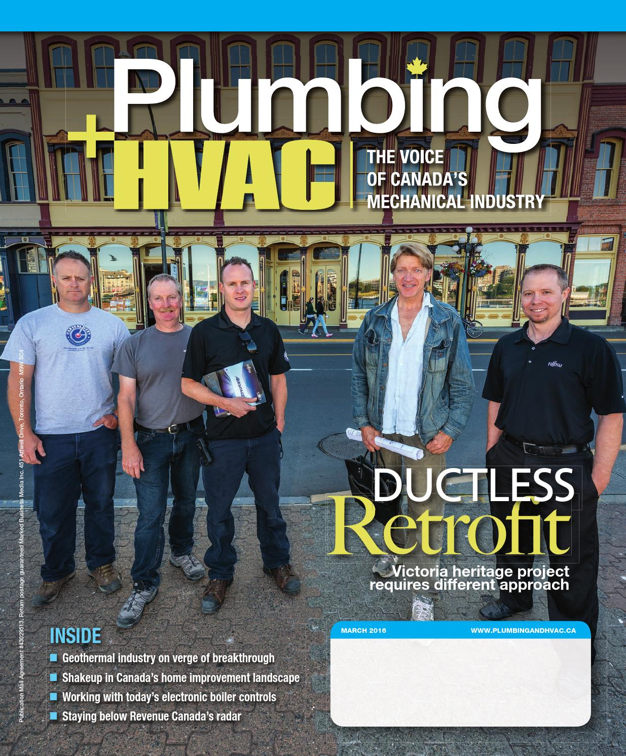March 2016 by plumbing and hvac issuu - Heritage plumbing heating cooling ...