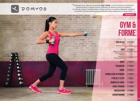Gym et forme 2016 by Decathlon Pro - issuu 03da5e7599d