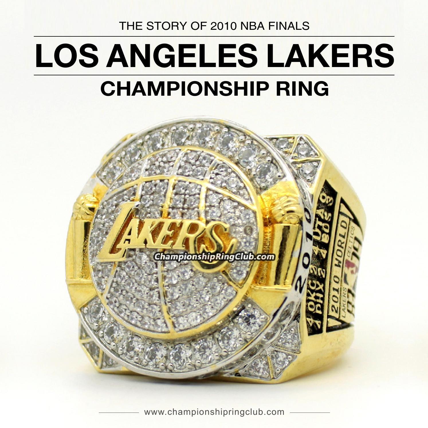 2010 Los Angeles Lakers Nba Championship Ring By Championshipringclub Issuu