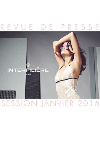 026741a97 Revue de presse Interfilière Paris Janvier 2016