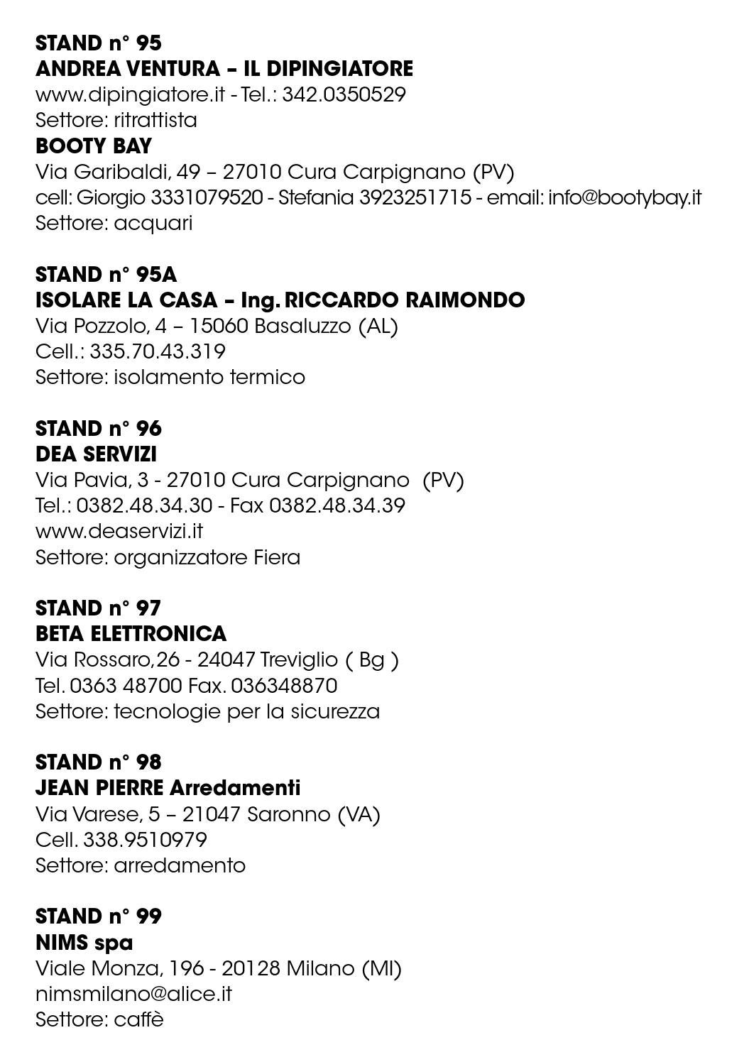 Isolare La Casa Basaluzzo home - catalogo espositori 2016 by dea servizi - issuu