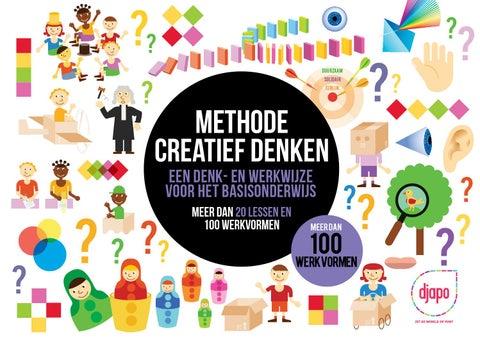 Ongebruikt Methode creatief denken inkijkversie by Djapo - issuu DT-84
