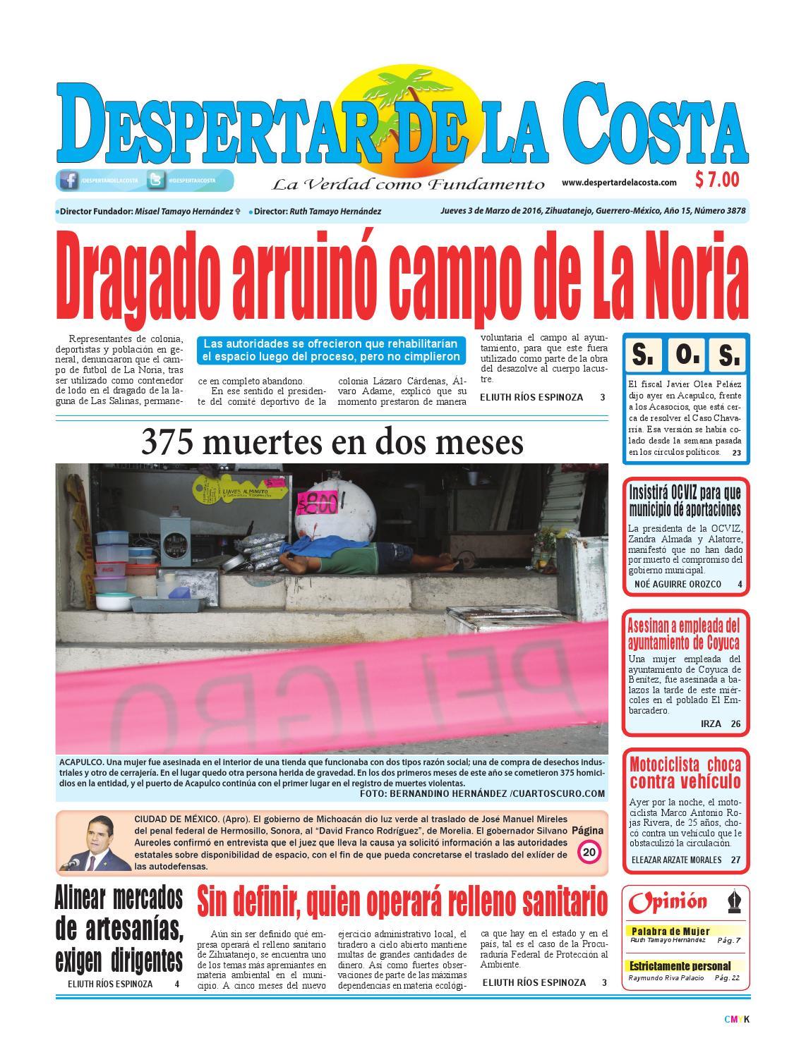 edición impresa 3/03/2016 by Despertardelacosta - issuu