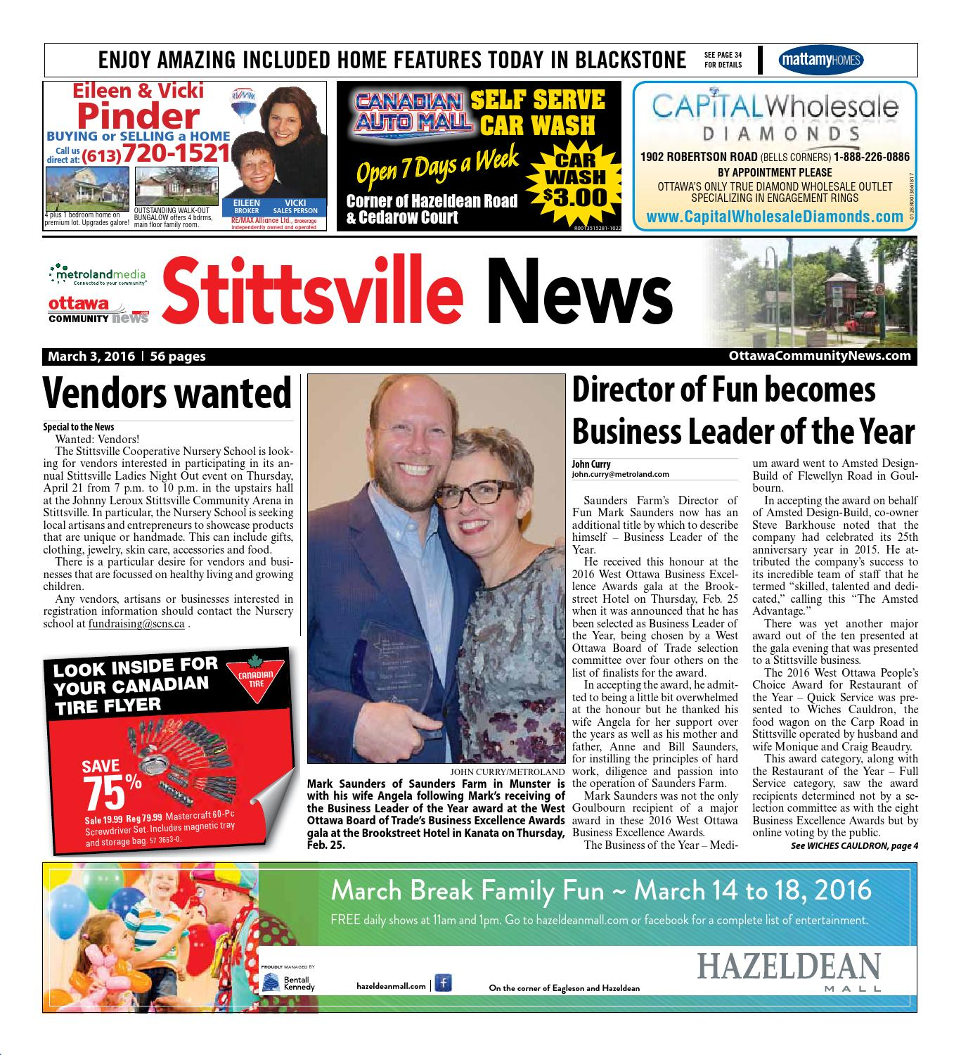 Stittsville030316 By Metroland East Stittsville News Issuu