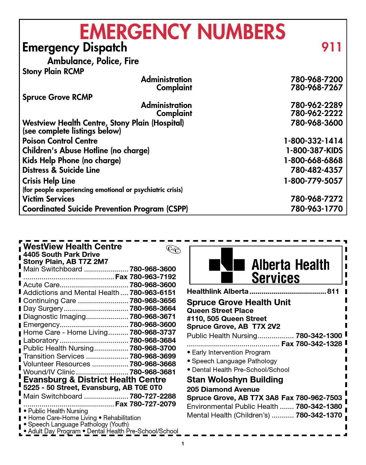 Rbc spruce grove phone book