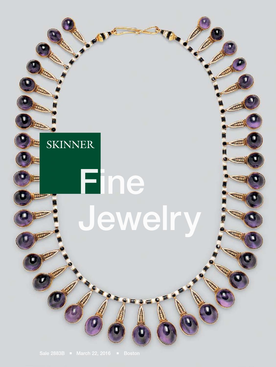 Fine jewelry skinner auction 2883b by skinner inc issuu for Nancy b fine jewelry