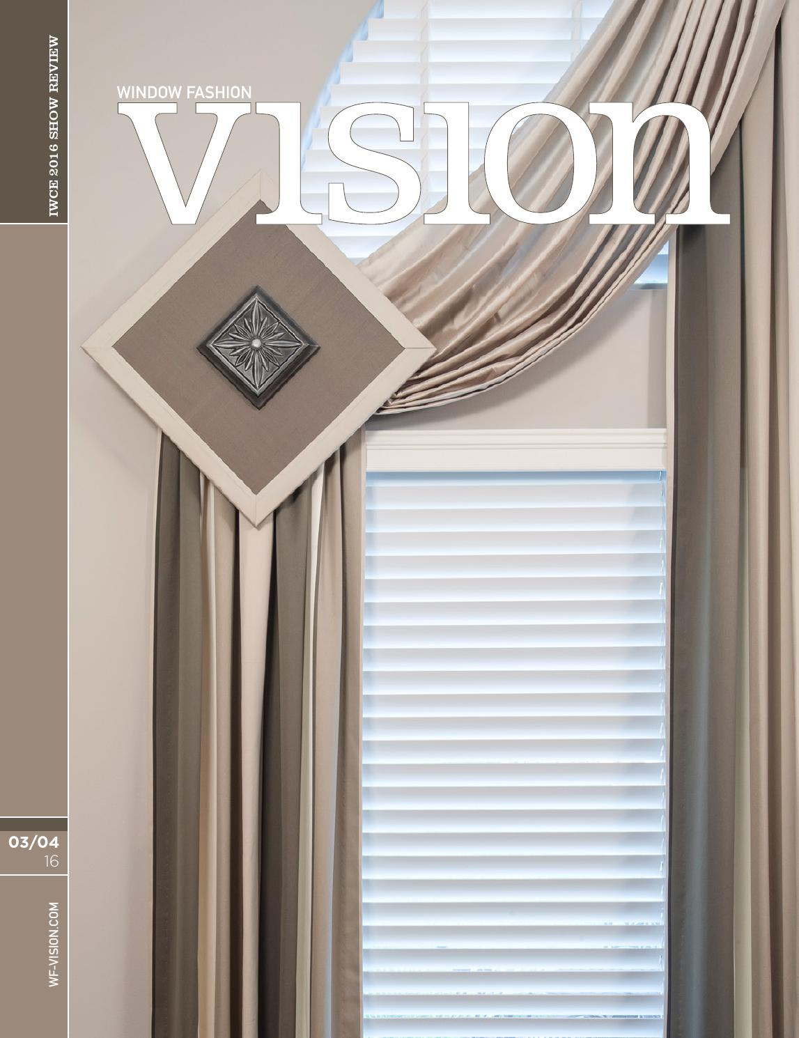 Window Fashion Vision March April 2016 By Magazine Issuu