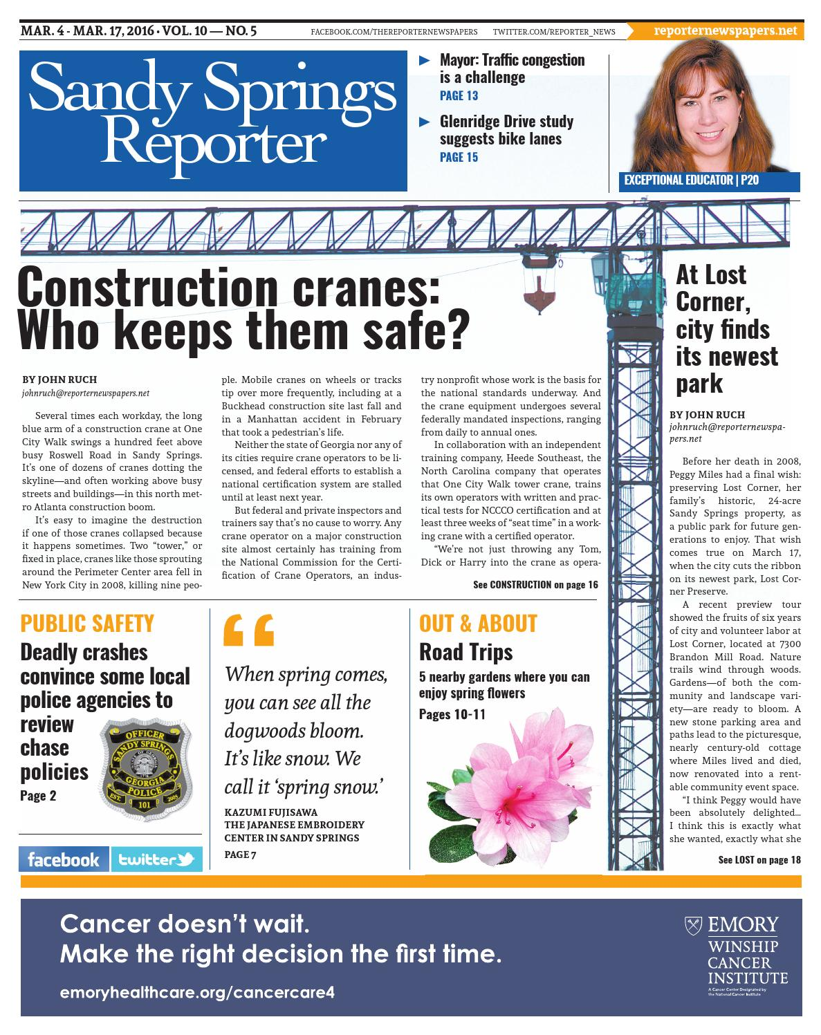 03 04 2016 Sandy Springs Reporter By Reporter Newspapers Issuu