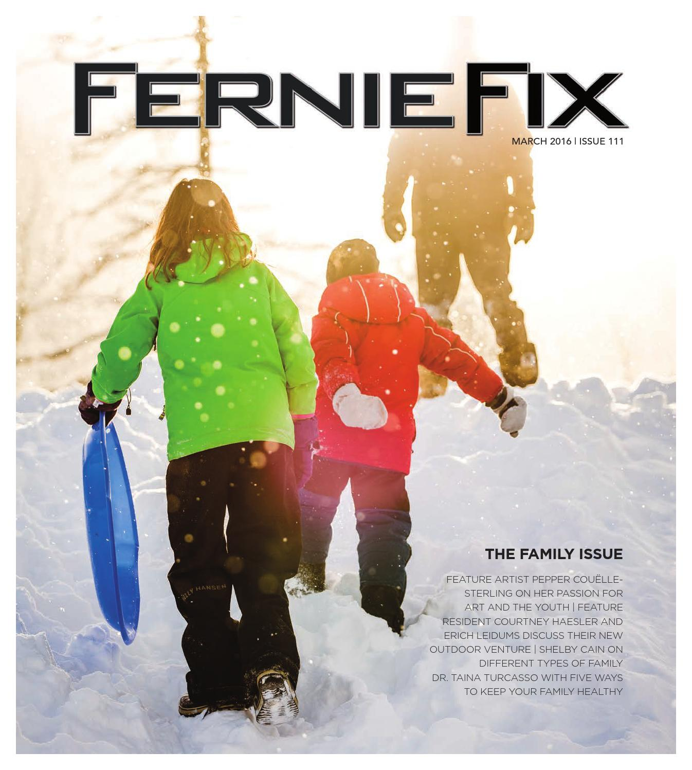 Fernie fix march 2016 by claris media issuu fandeluxe Images