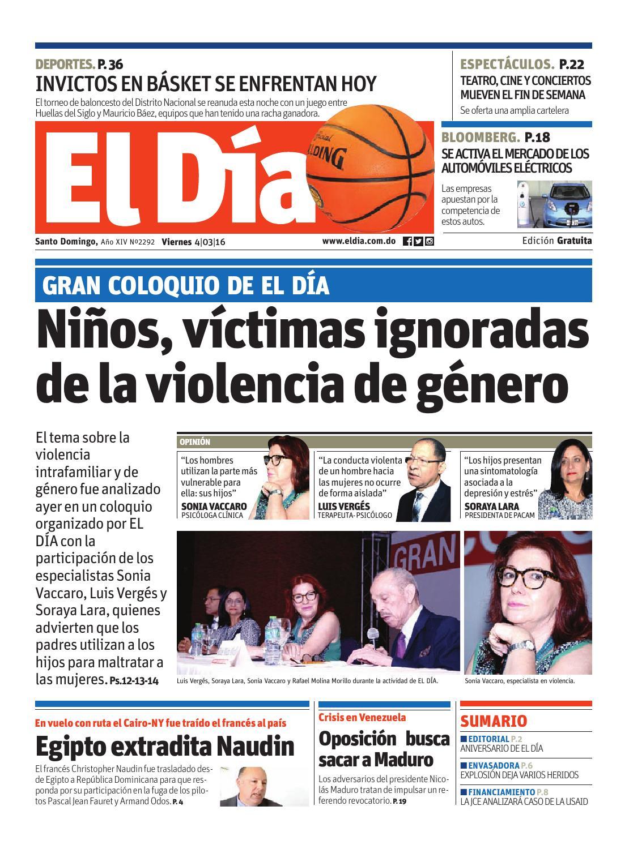 Edición impresa by Periódico El Dia - issuu