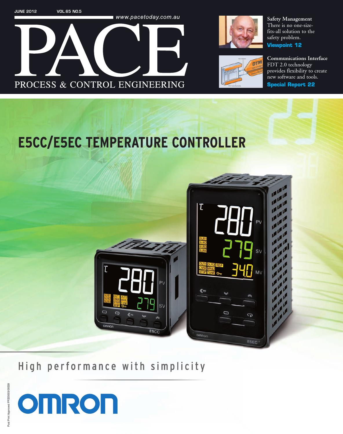 Pace Process Control Engineering June 2012 By Primecreative Energy Saver Circuit Diagrams On Wiring Diagram Plc Omron Issuu