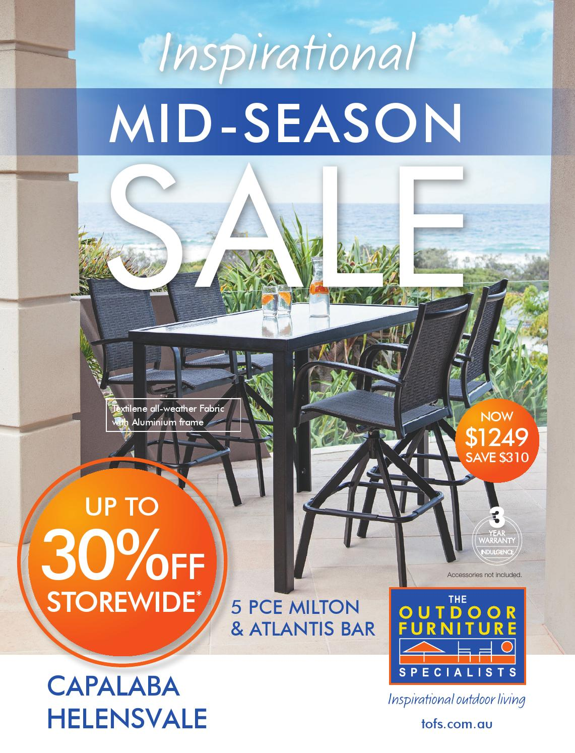 Mid season sale capalaba helensvale by tofs the outdoor furniture specialists issuu