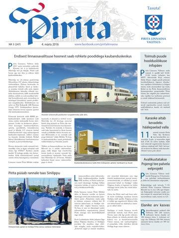 d6e91c4b4f7 Pirita leht märts 2016 by Piritalinnaosavalitsus - issuu