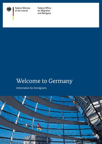 Willkommen in Deutschland (engl.) by Bundesamt für Migration und ...