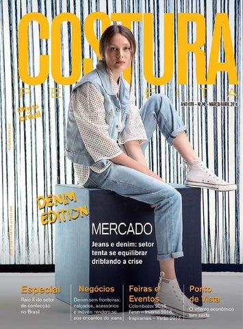 Revista Costura Perfeita Edição Ano XVII - N90 - Março-Abril 2016 by ... 09bc2de41d75b