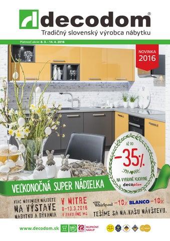 fe49f2da44a6 Tradičný slovenský výrobca nábytku Platnosť akcie  8. 3. - 14. 4. 2016