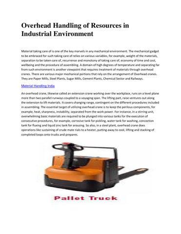Toyota Material Handling India by thomsbrolin - issuu