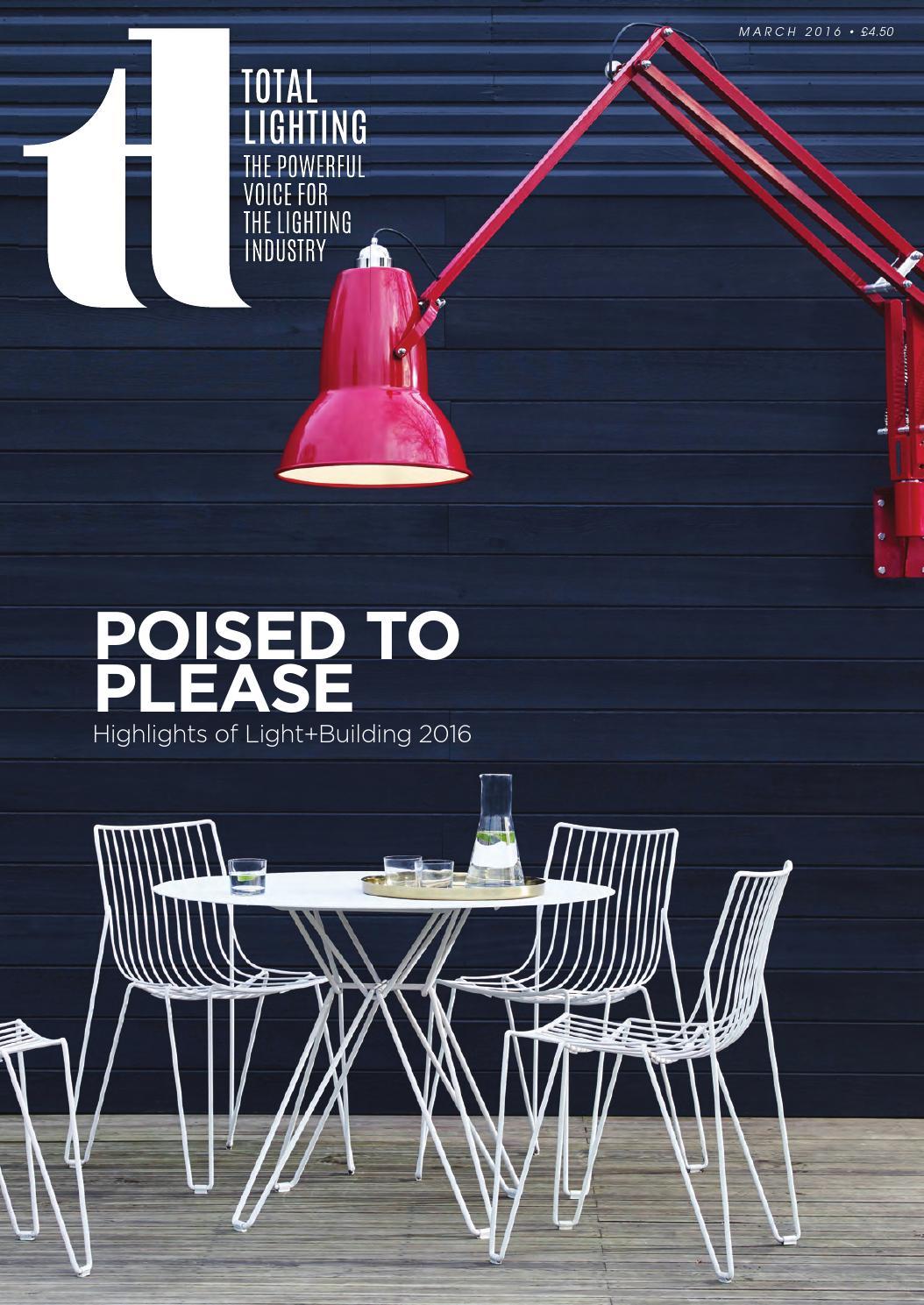 Total Lighting Magazine March 2016 by Total Lighting Magazine - issuu