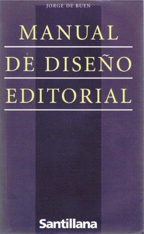 f7aa6d8ccf309 Manual de diseño editorial por Jorge de Buen by Herramientas ...