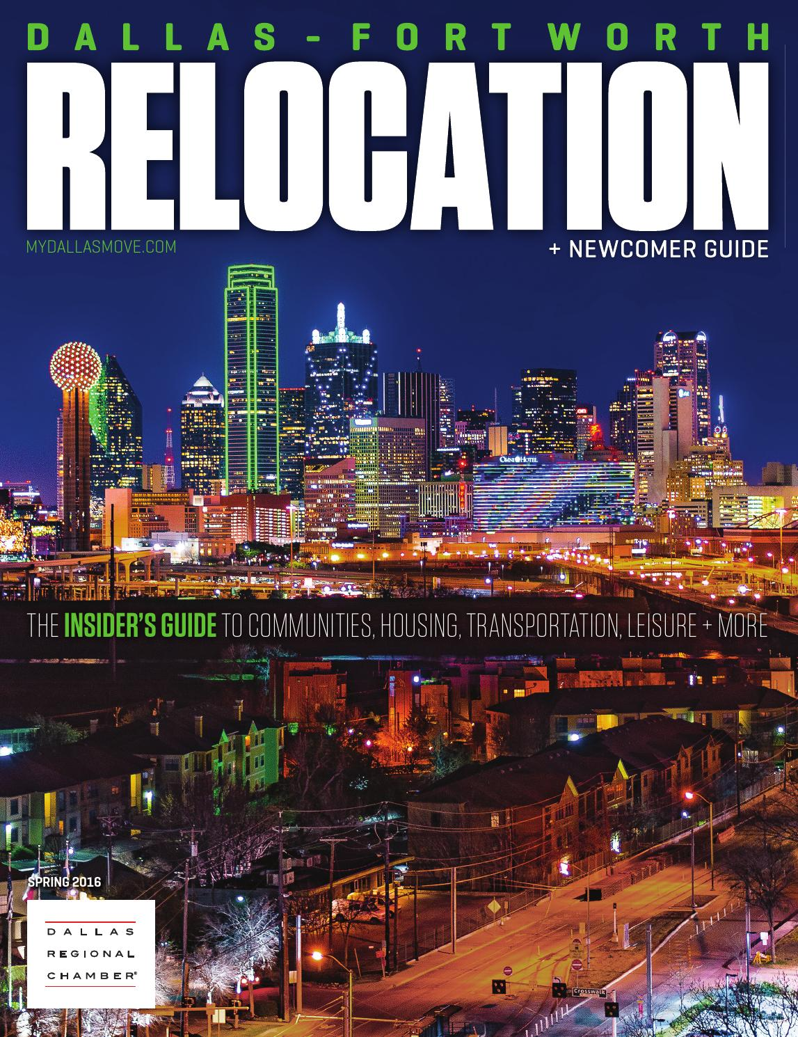 Dallas-Fort Worth Relocation + Newcomer Guide - Spring 2016 by Dallas  Regional Chamber Publications - issuu b03246f074