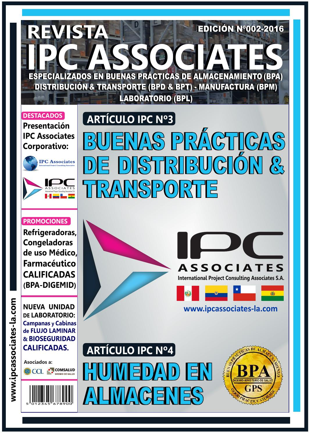 Revista IPC Nº002-2016 (BPDistribución & Transporte) by IPC ...