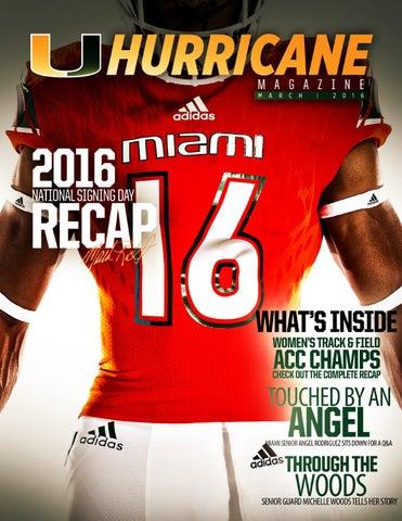 a8bb3ebf9db Hurricane Sports Magazine  March 2016 by Miami Hurricanes - issuu