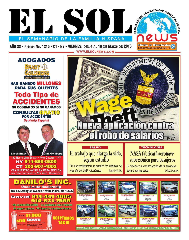 EL SOL News 1215 by EL SOL News - issuu
