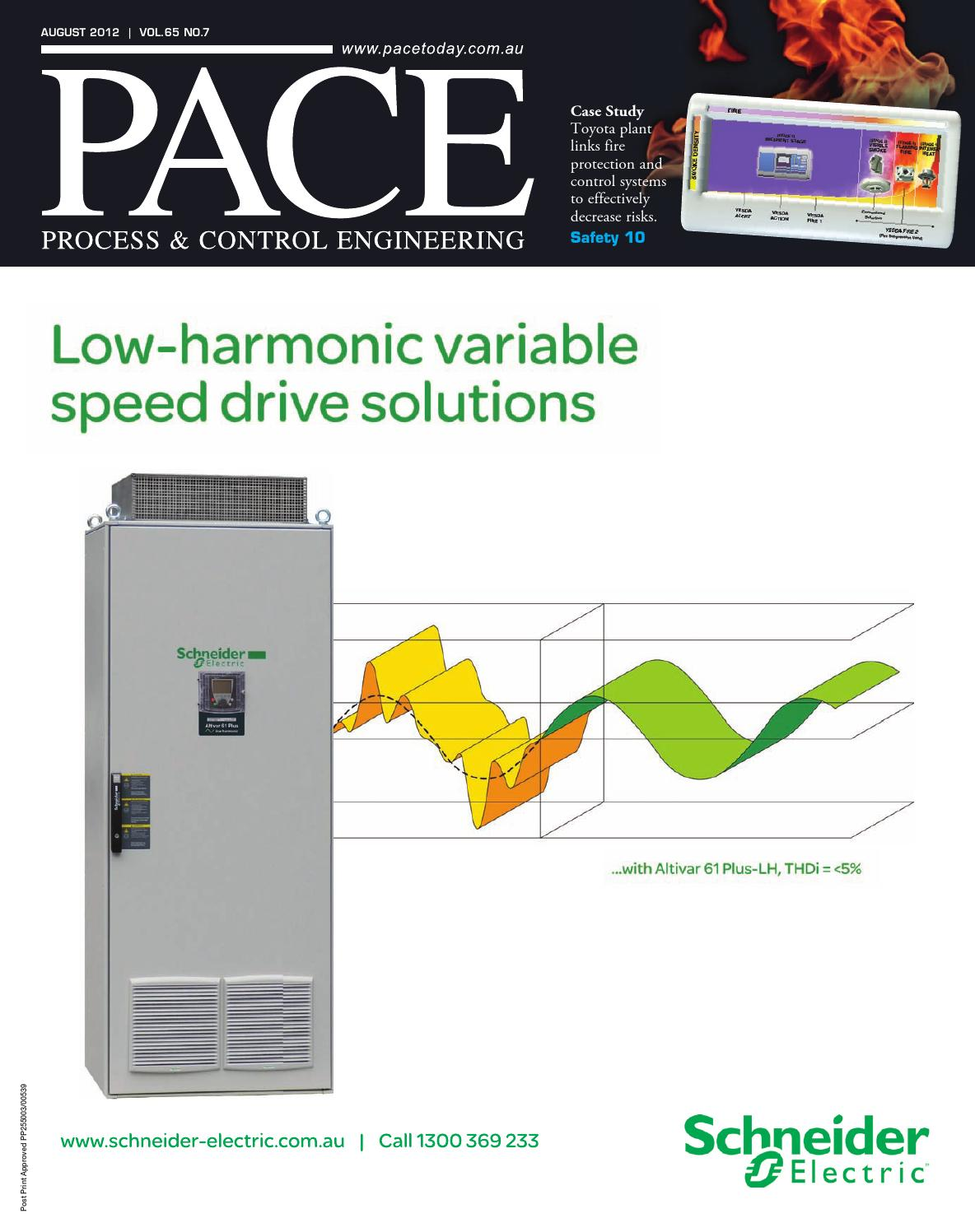 Pace Process Control Engineering August 2012 By Primecreative Altivar 61 Wiring Diagram Issuu