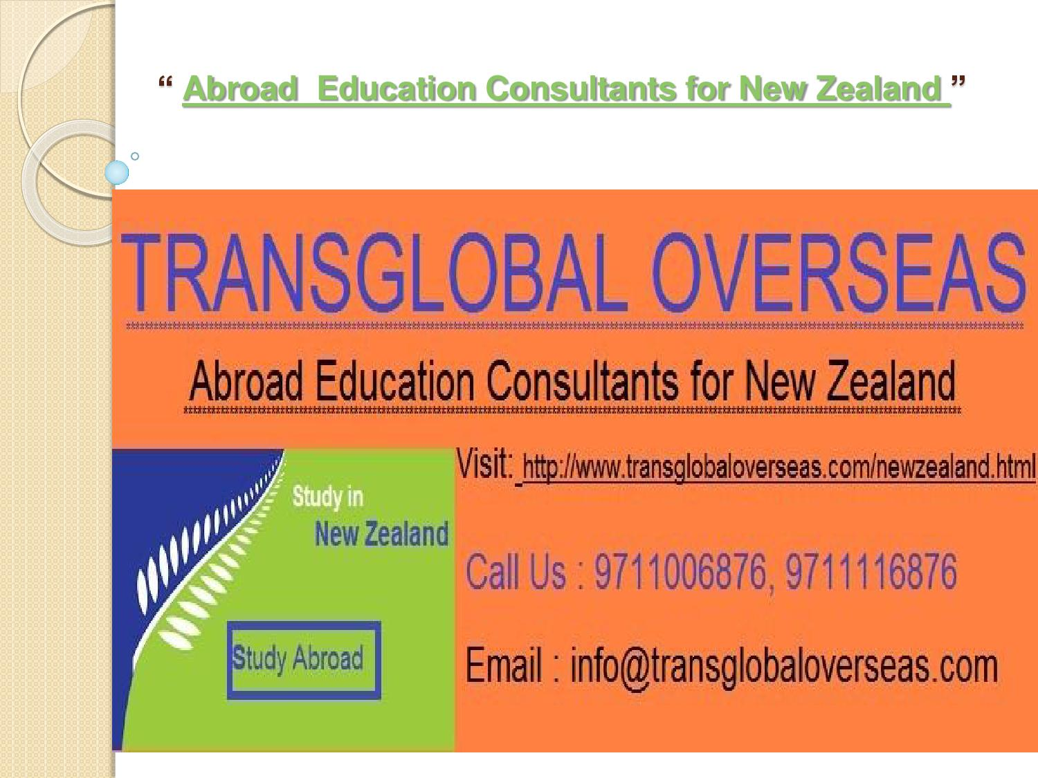Collaborative Teaching New Zealand ~ Abroad education consultants for new zealand by kush issuu