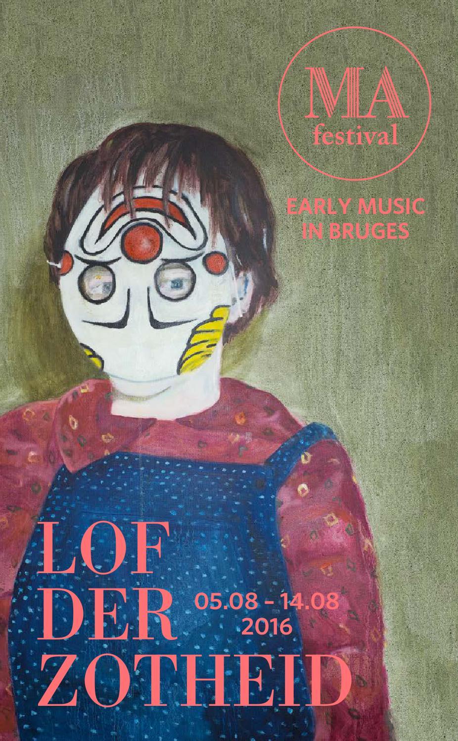 Citaten Uit Lof Der Zotheid : Brochure mafestival lof der zotheid by