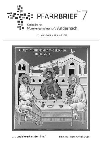 Osterpfarrbrief By Kath Pfarreiengemeinschaft Andernach Issuu
