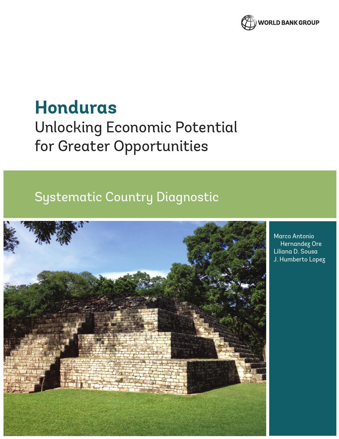 Honduras By World Bank Publications Issuu - Honduras mineral map non metallic