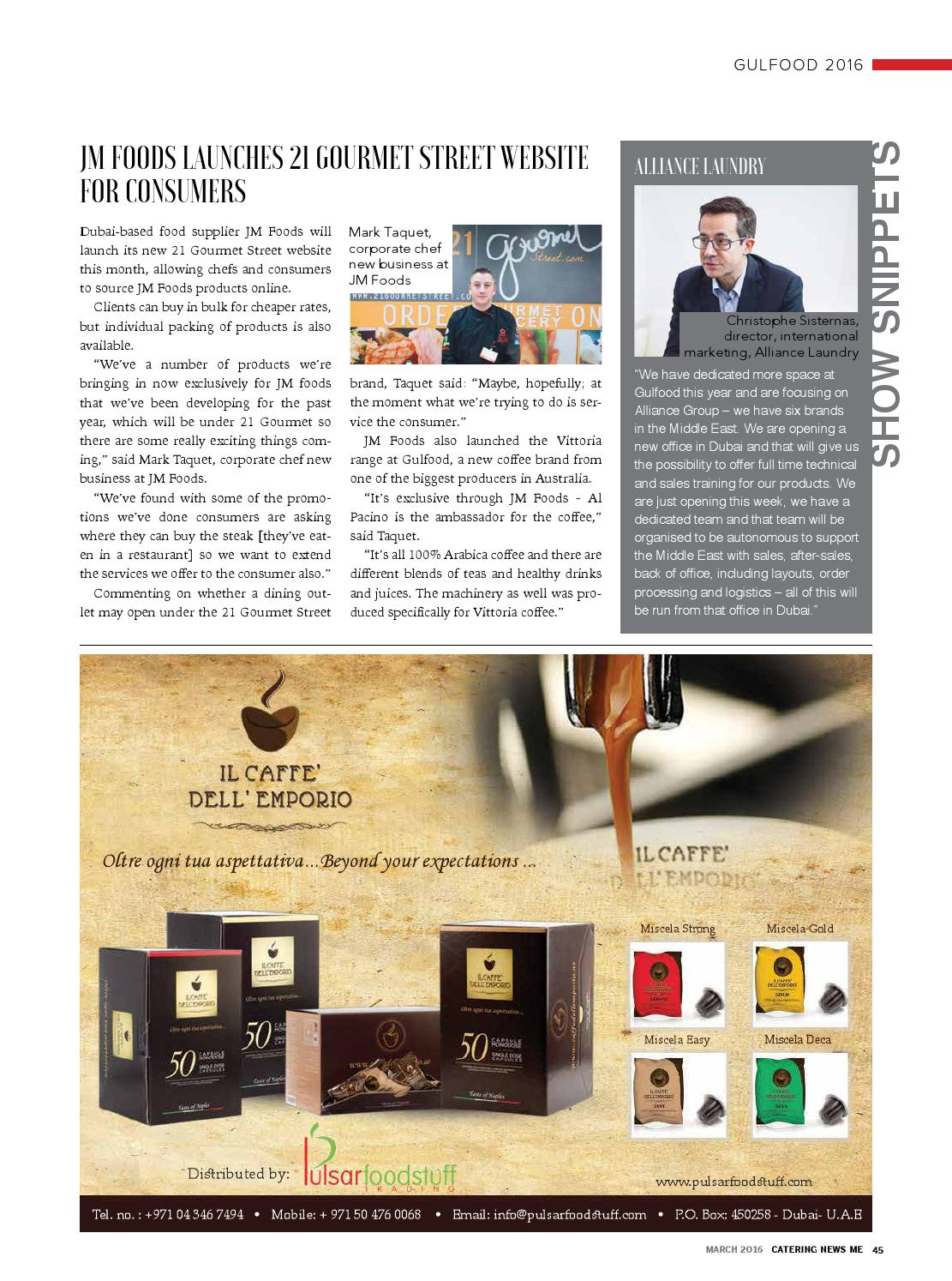 Catering News ME - March 2016