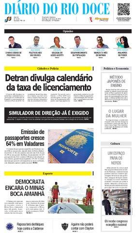 e0ac958d951 Diário do Rio Doce - Edição de 06 03 2016 by Diário do Rio Doce - issuu