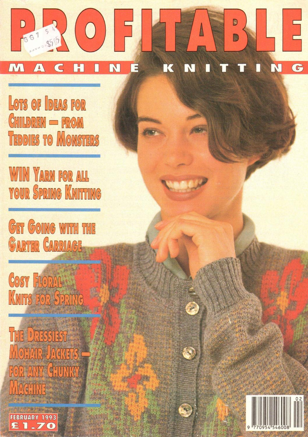 Profitable machine knitting magazine 1993 02 300dpi clearscan ocr by  Daniela Benedetta Cameron - issuu