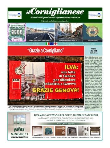 ilCorniglianese Mensile indipendente di informazione e cultura Il giornale  non ha finanziamenti pubblici 26cec28ba548