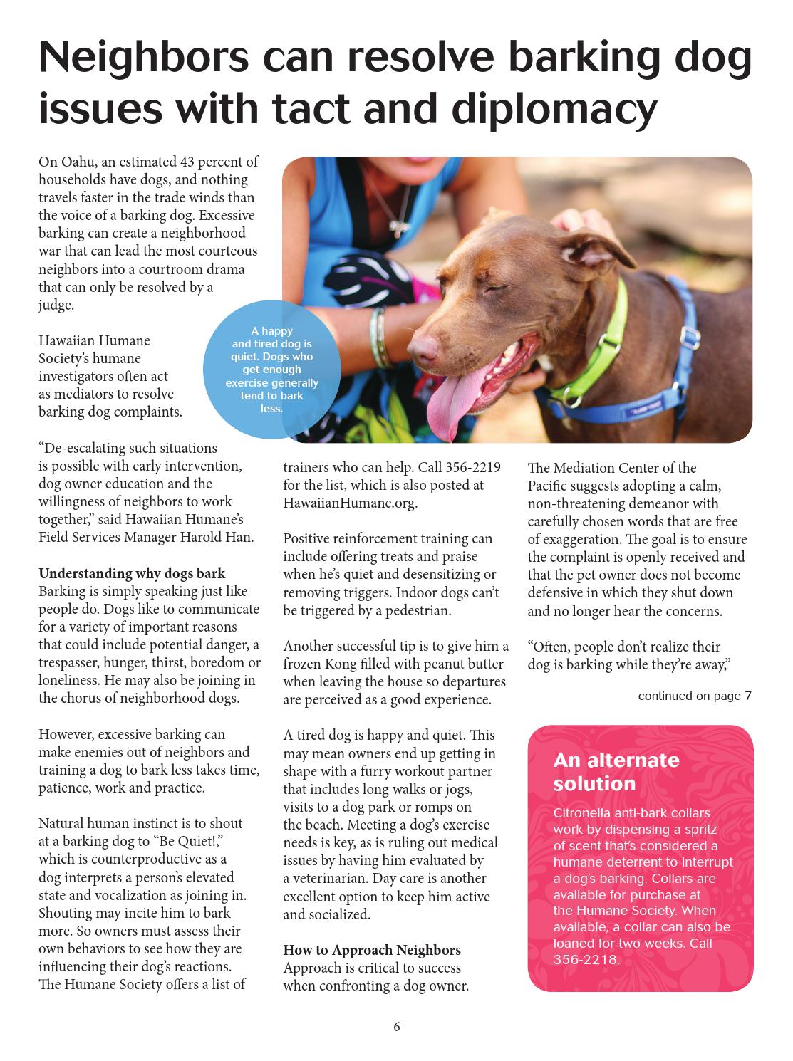 Hawaiian Humane Society March-May 2016 Newsletter by