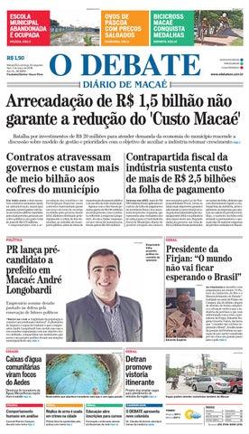 Noticiário 06 03 2016 by O DEBATE Diario de Macae - issuu 34fc5181ee
