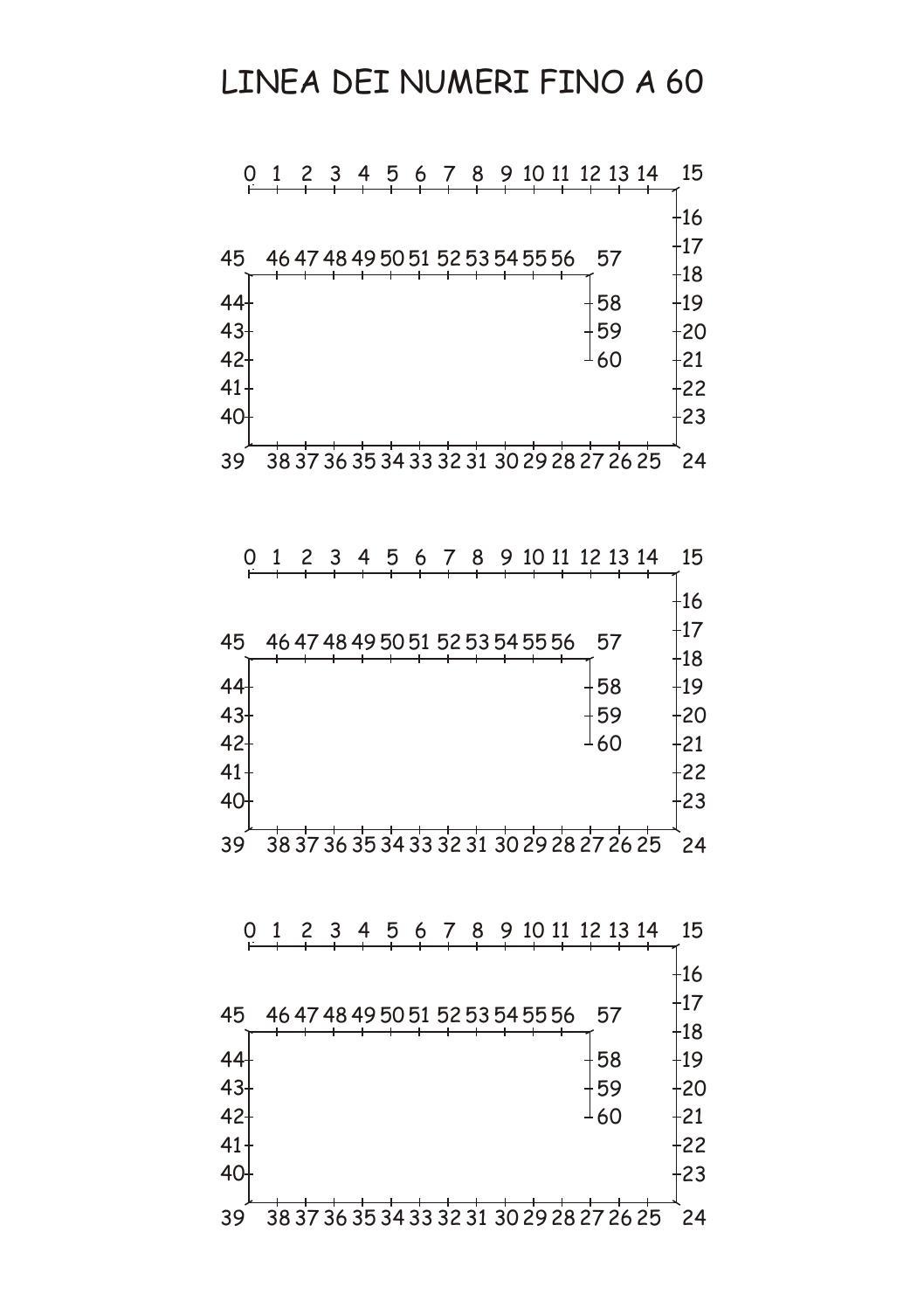 Linea dei numeri 50 60 by cerzat issuu for Linea dei numeri da stampare