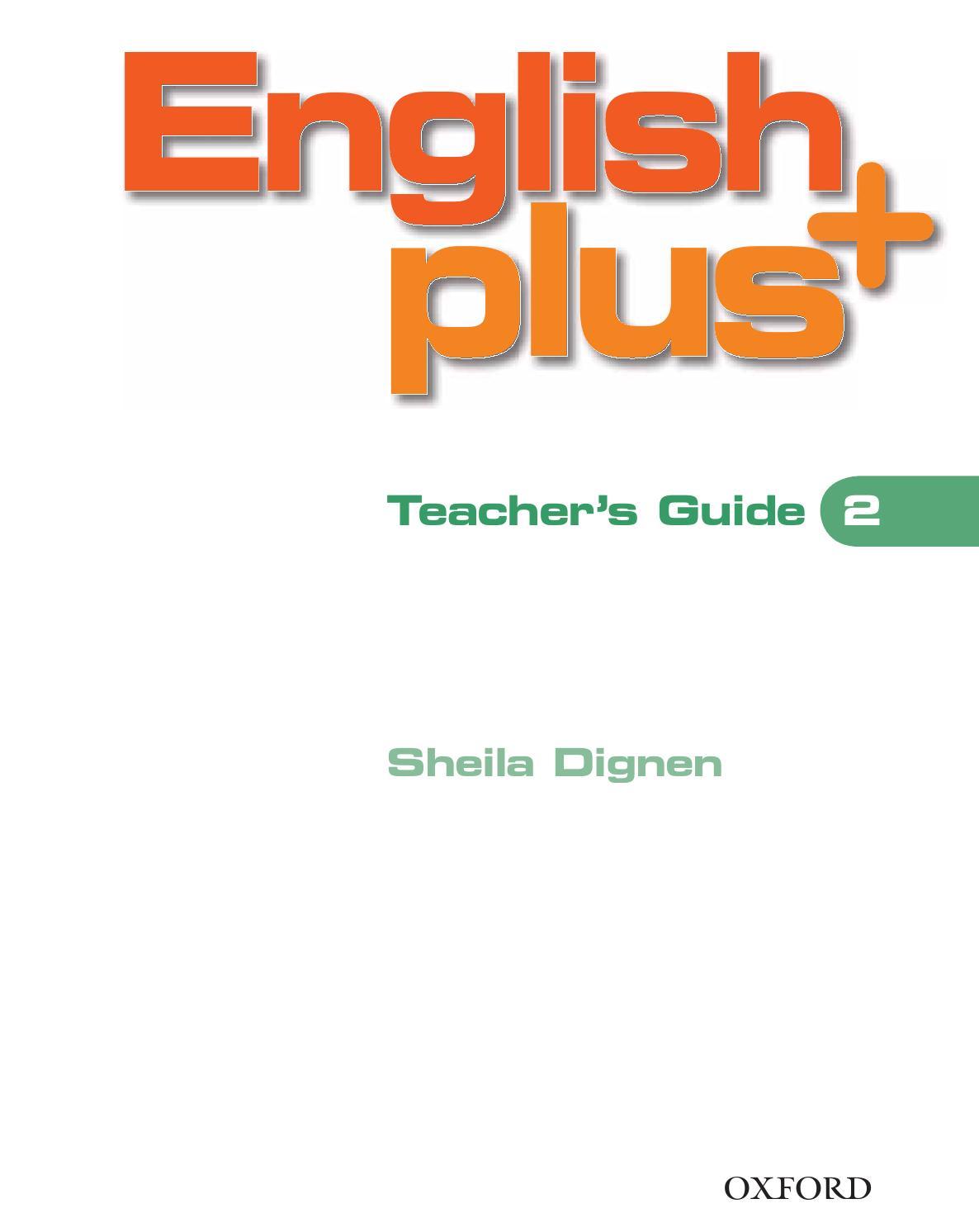 ENGLIS PLUS 2 TEACHER'S GUIDE by Oriol Barany - issuu