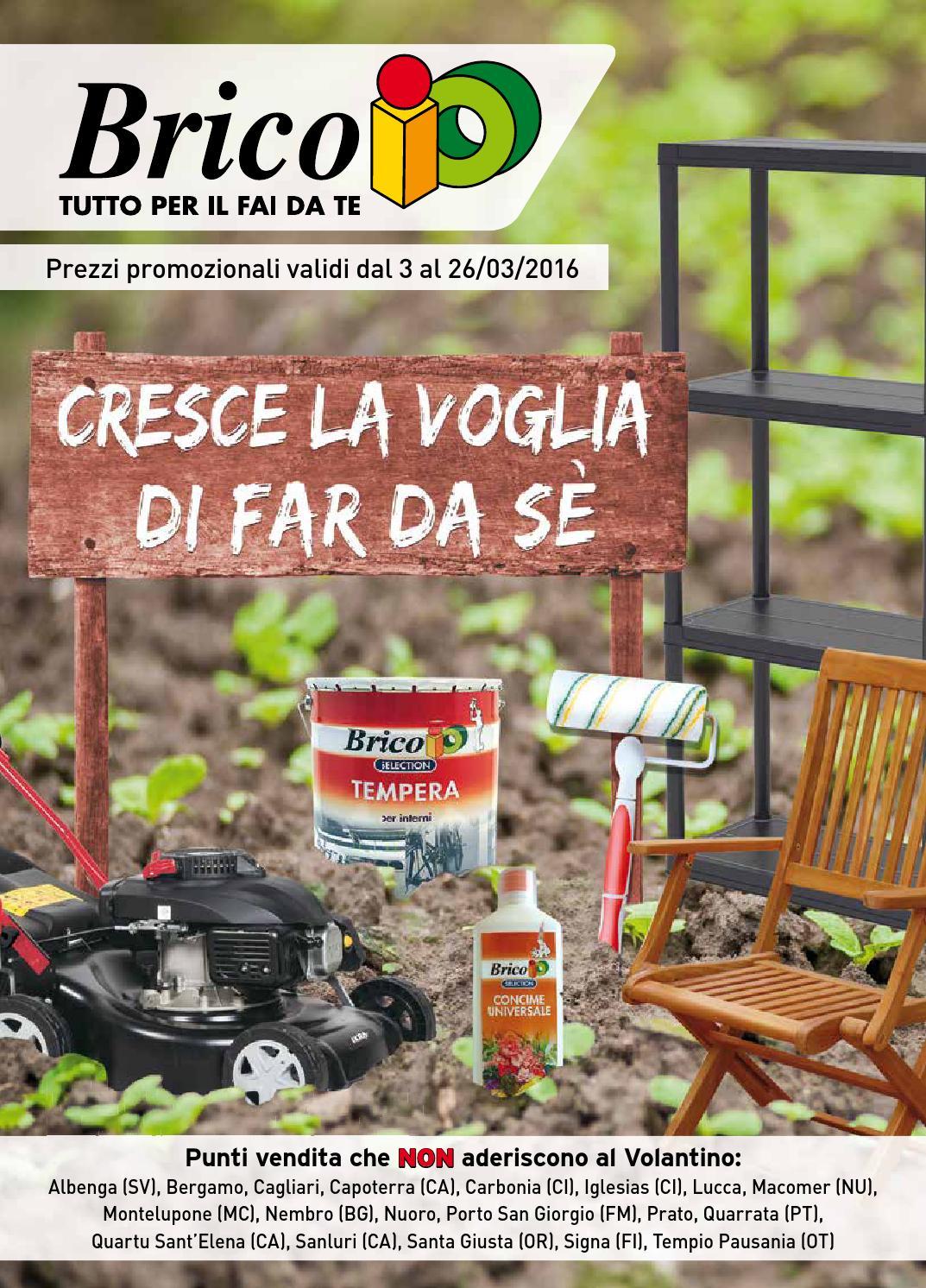 Bricoio 26mar by volavolantino issuu for Staccionata in legno brico
