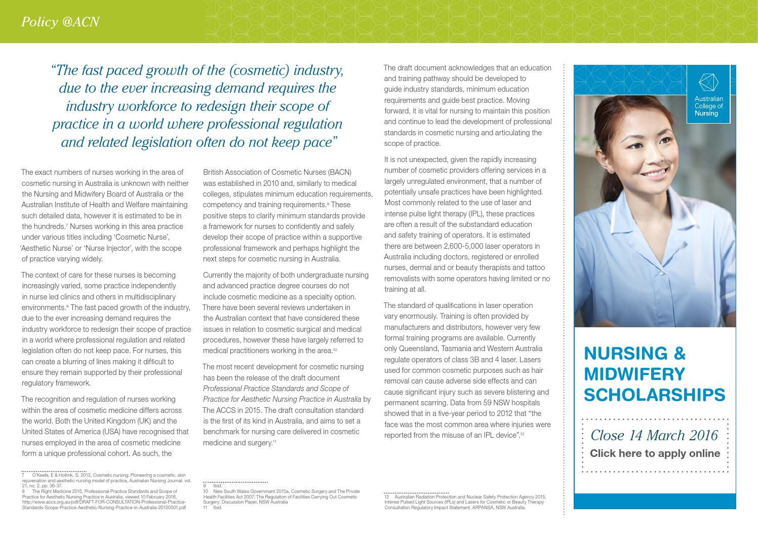 NurseClick February/March 2016 by ACN Australian College of