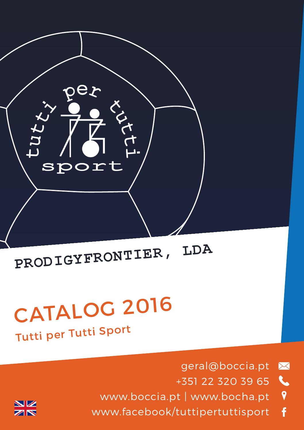 Design Per Tutti Com catalog boccia tutti 2016 in by prodigyfrontier lda - issuu