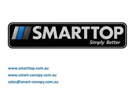 .smarttop.com.au .smart-canopy.com.au sales@smart-canopy.com.au  sc 1 st  Issuu & Back white by SMART CANOPIES - issuu