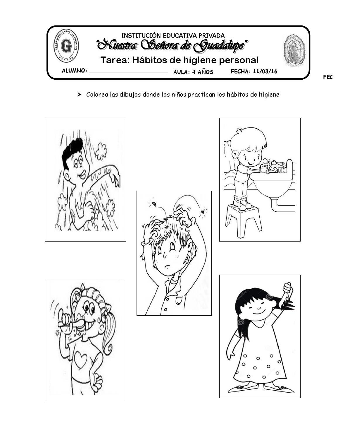 Tarea De Habitos De Higiene Personal By Katy Hormiguita Issuu