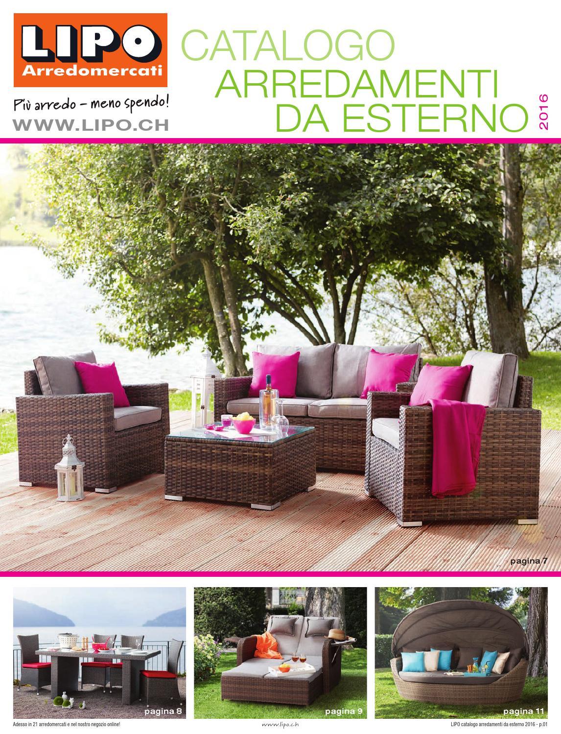 Awesome Arredamento Da Terrazzo Offerte Images - Home Design ...
