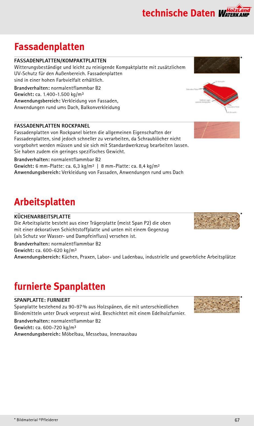 Holzland Waterkamp Platten Spezial By Kaiser Design Issuu