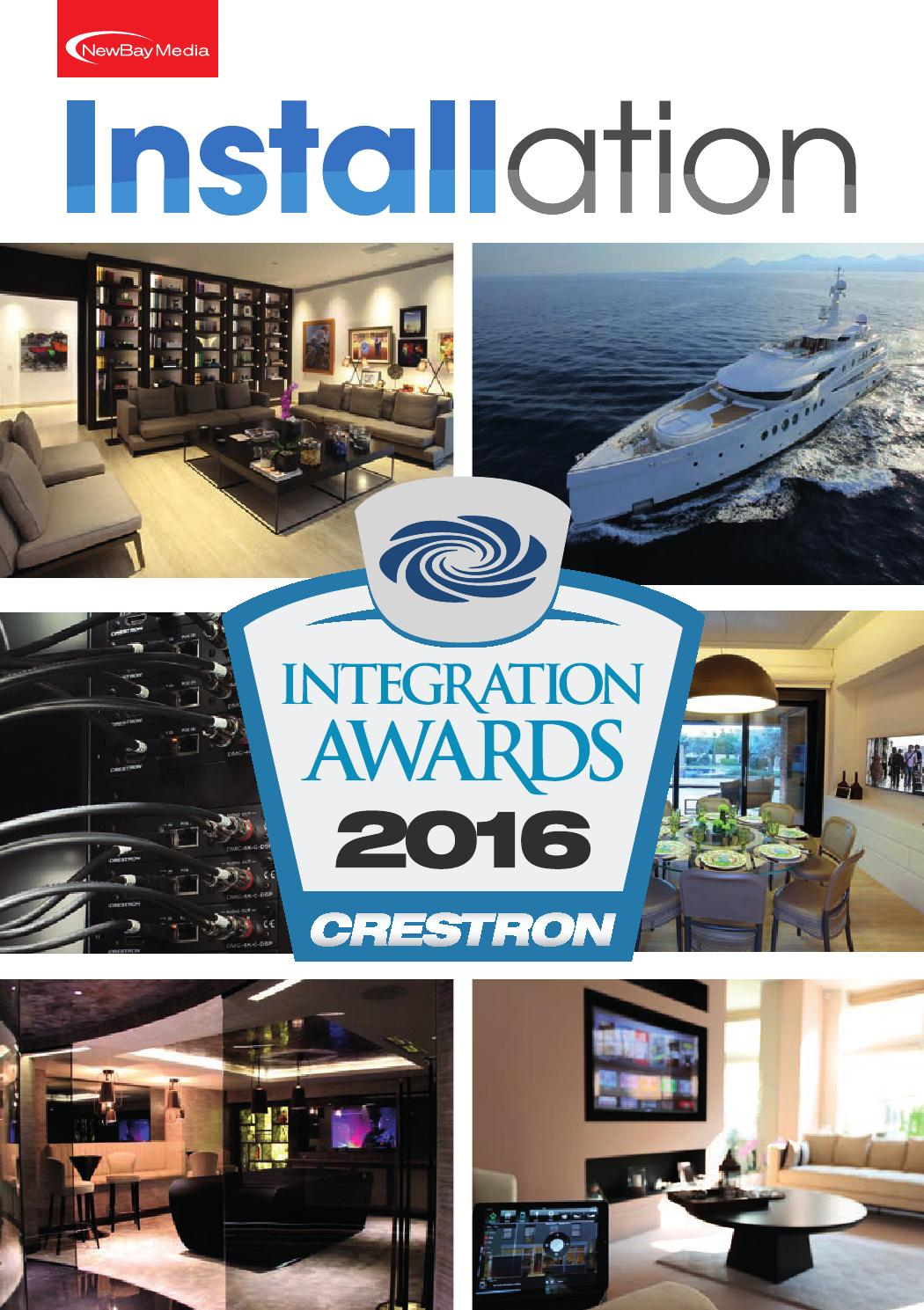 Crestron Awards 2016 By Future Plc Issuu Lighting Dimmer Wire Diagram